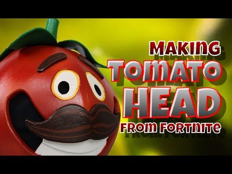 Making Tomato Head from Fortnite