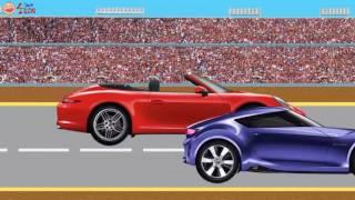 Транспорт для детских автомобилей Мультфильм с автомобилем BRANDS для детей Обучение видео