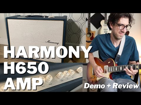 The Harmony H650 is a Vintage-Inspired Amp with Modern Features I Demo & Review