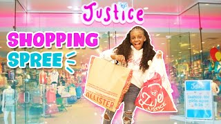 Justice Shopping Spree