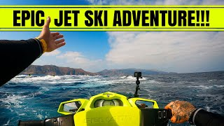EPIC JET SKI ADVENTURE to Catalina Island - DOLPHINS EVERYWHERE!