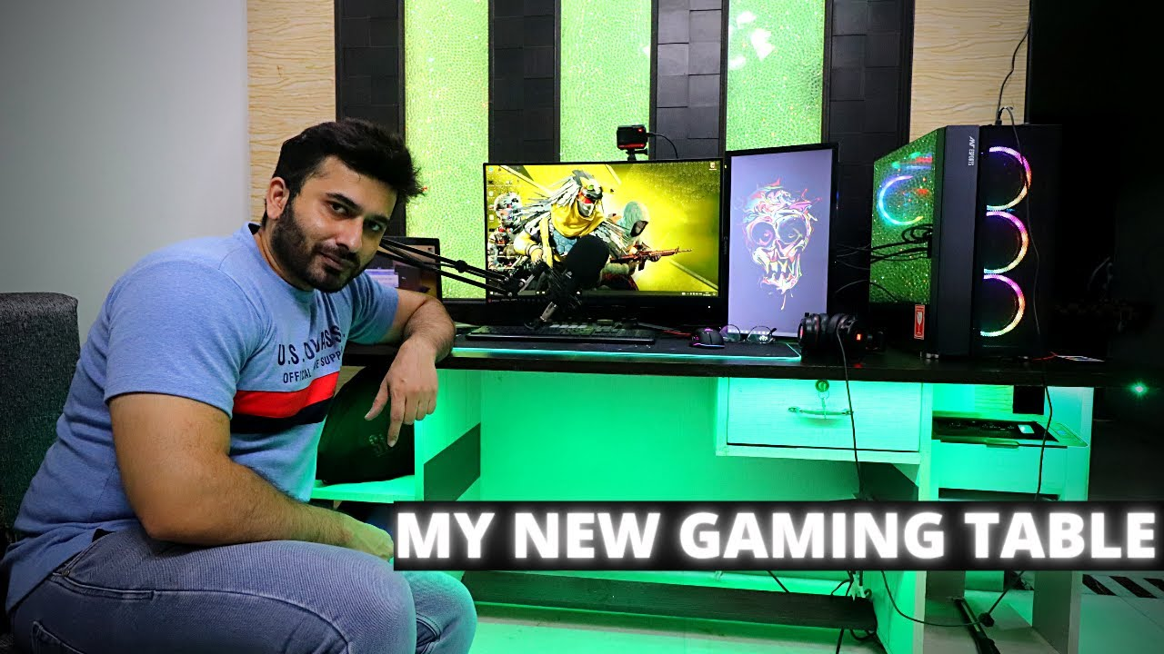 First RGB Gaming Desk made in India... This is MADNESS 🤯🔥 | Born Creator
