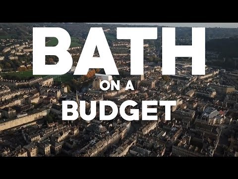 BATH ON A BUDGET! - Exploring Bath for Cheap!
