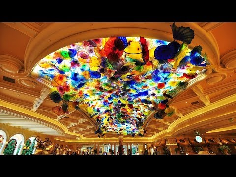 THE BELLAGIO Resort and Casino - Las Vegas, Nevada - June 2017