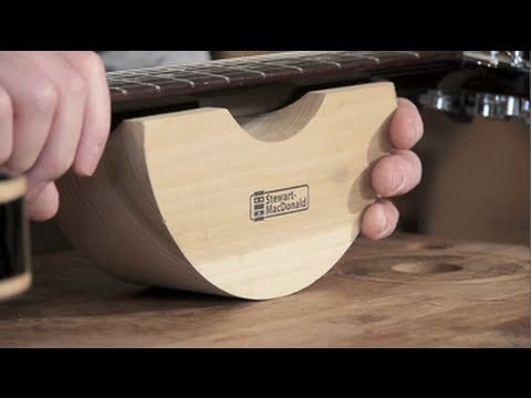 Neck Support For Guitar Repairs Youtube