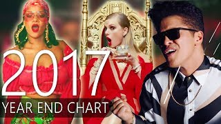 Top 50 Best Songs of 2017 (Year End Chart 2017) 2017 Video