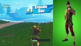 Won with new HACIVAT Skin [Fortnite][English]