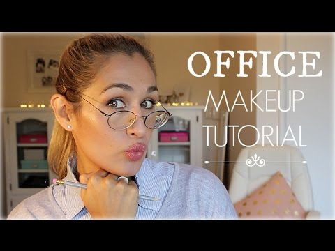 Office Makeup Tutorial Neutral Classic Everyday Look - YouTube