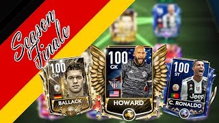 EPIC FIFA MOBILE 19 FINALE! PORTUGAL & GERMANY LEGACY SQUAD! feat BALDY LEGEND HOWARD