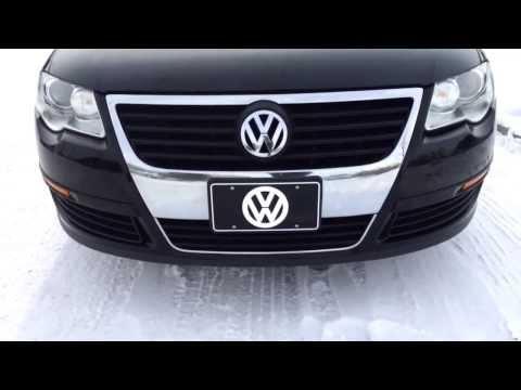 Pre Owned Black 2007 Volkswagen Passat Sedan Calgary