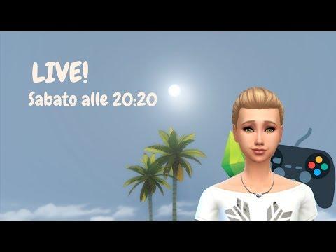 RANDOM GENETIC CHALLENGE e altre cose DIVERTENTI! //The Sims 4 - LIVE!