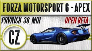 Forza Motorsport 6: Apex - Open Beta | Český Gameplay | Prvních 30 minut [1080p] [CZ]