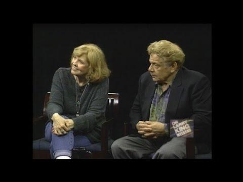 1994: Meara, Stiller perform scene for Larry King