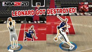 NBA2K20 MOBILE My Career EP 3 - 1v1 Kawhi Leonard Ankle Breaker | Filipino