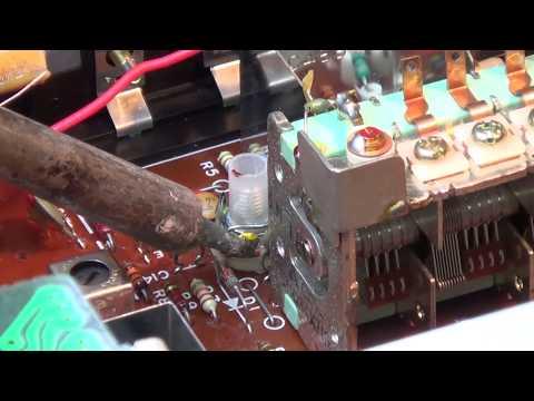 Technics ST8044 No FM reception on low end of band.  part 2