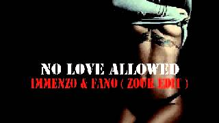 Rihanna No Love Allowed ( Immenzo & Fano Zouk Edit )