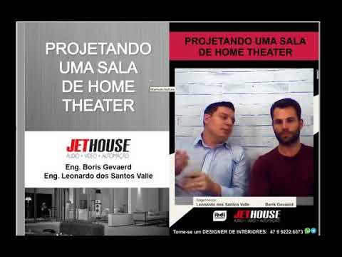 Live IBDI – Projetando uma sala de home theater com JET HOUSE
