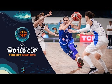 Korea v Greece – Highlights – FIBA Women's Basketball World Cup 2018