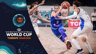 Korea v Greece - Highlights - FIBA Women's Basketball World Cup 2018