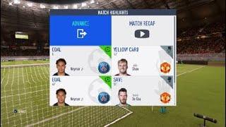 FIFA 19 UEFA EUROPA LEAGUE FINAL HILIGHT PSG VS MAN UTD