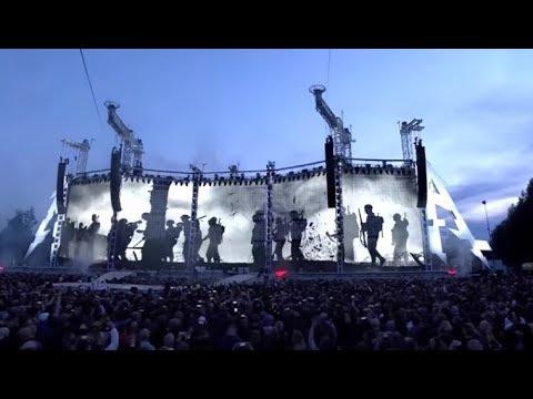 METALLICA post full concert from their July 16 show in Hämeenlinna Finland ..!