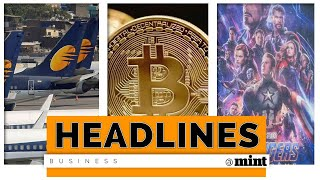 Mint Headlines:  Jet Airways crisis, heat on cryptocurrencies and more