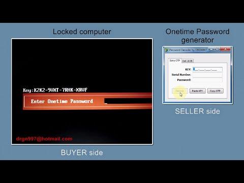 Sony Vaio 4X4 Master Password Generator using LBE Ver 1 3 | FunnyCat TV