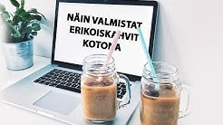 ERIKOISKAHVIT KOTONA