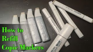 How to Refill Copic Markers (V…
