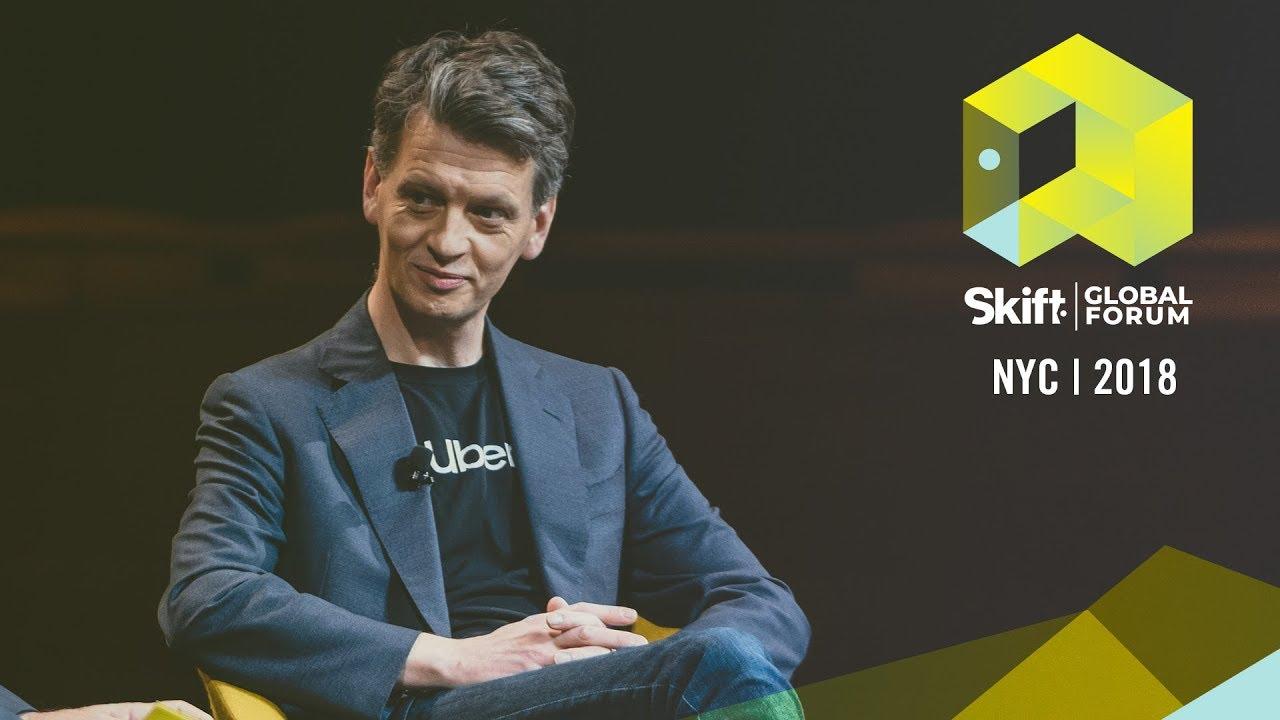 Uber COO Barney Harford at Skift Global Forum 2018