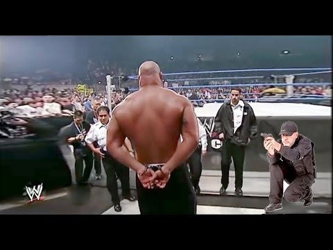 Bill Goldberg Attacks Brock Lesnar - Bill Goldberg Arrested By Paul Heyman - Goldberg vs Brock