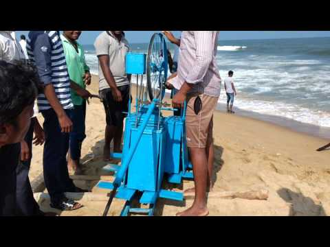 Elliptical tidal power plant project Assembly part 5