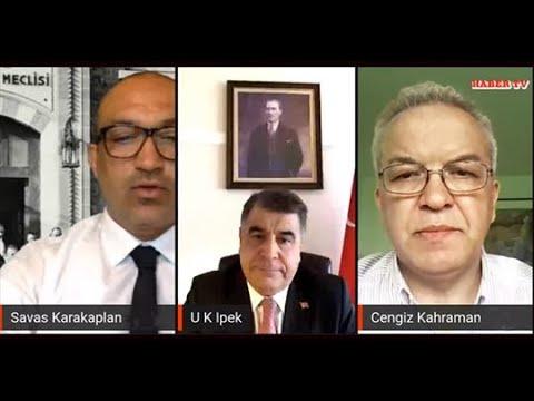 HABER TV'de T.C Kopenhag Büyükelçisi Uğur Kenan İpek ile söylesi