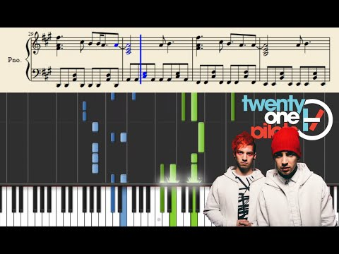 twenty one pilots: Not Today (Piano Tutorial) +Sheets