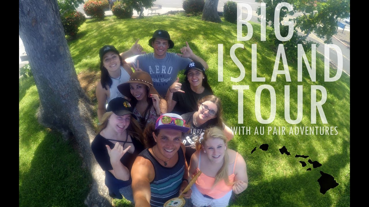 hawaii big island tour w au pair adventures youtube. Black Bedroom Furniture Sets. Home Design Ideas