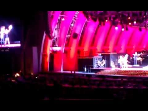 Chicago at Hollywood Bowl (3) ~ Lucy Lawless