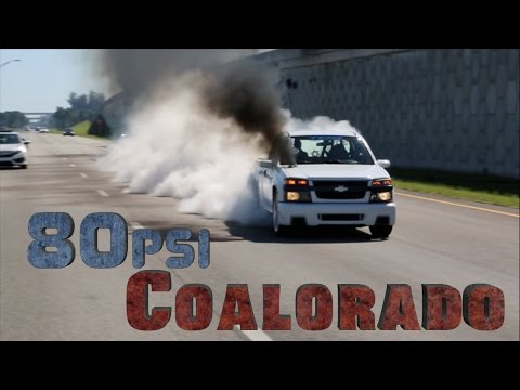 "1800TQ Duramax swapped Colorado - The ""Coalorado"""