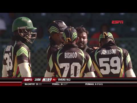 Super50 Cup 2018- Jamaica Scorpions vs Guyana Jaguars Highlights