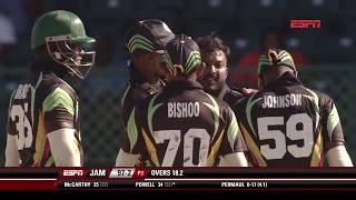 Super50 Cup 2018- Jamaica Scorpions vs Guyana Jaguars Highlights