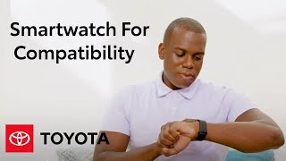 homepage tile video photo for Remote Connect | Smartwatch For Compatibility | Toyota