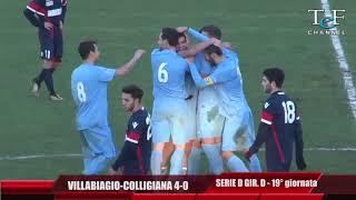 Serie D Girone D Villabiagio-Colligiana 4-0