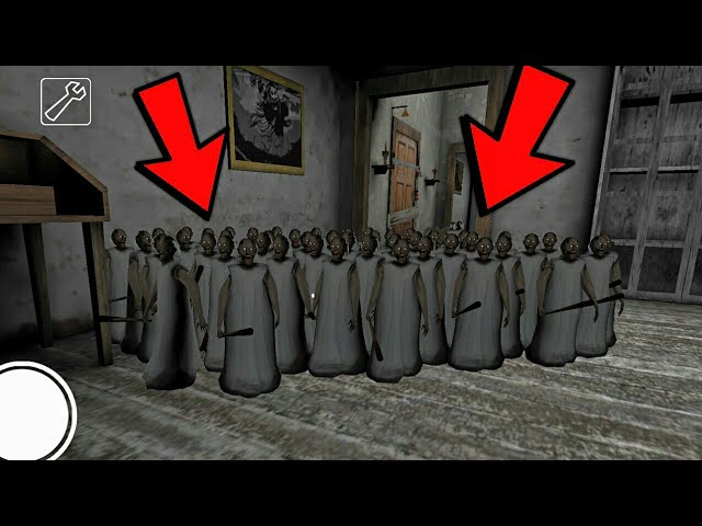 100 SMALL CLONE GRANNY HACK - NEW MOD GRANNY (FULL GAMEPLAY)