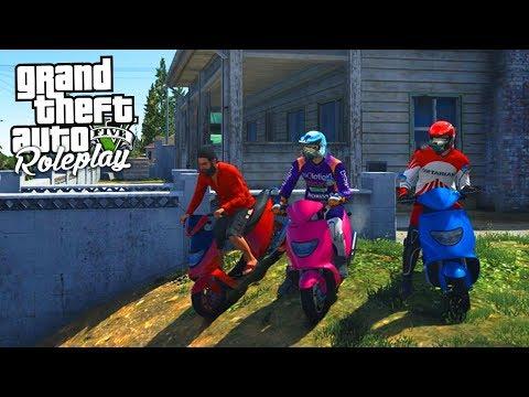 GTA 5 Roleplay - SOSA 4 - The High Speed Moped Gang (Civilian)