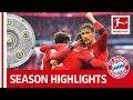 FC Bayern München Are Bundesliga Champions 2018/19 - Congratulations!