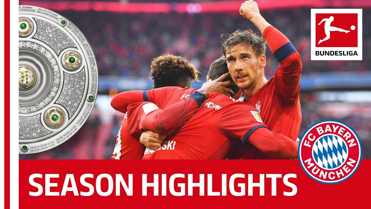 Fc Bayern Munchen Are Bundesliga Champions 2018 19 Congratulations Youtube