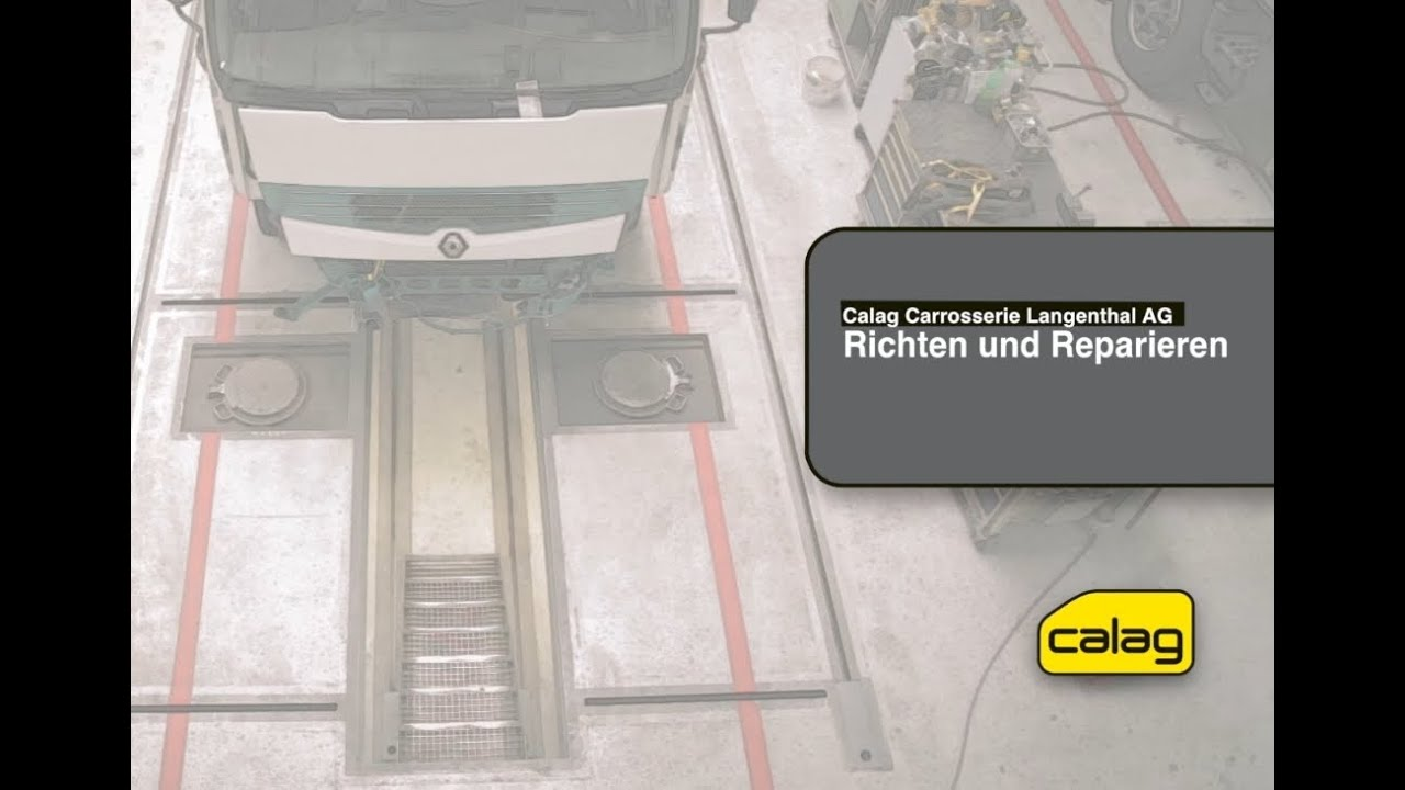Reparatur LKW Unfall-Instandsetzung durch Calag Carrosserie ...