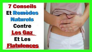 7 Conseils et remèdes naturels contre les gaz et les flatulences
