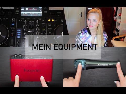 Mein Equipment - Mein Tonstudio - Mikrofon - Interface - Mischpult - Produzieren