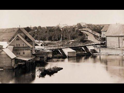 Тихвинский водный путь / Tikhvin Canal in 1865