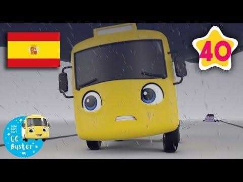 Atascado en el Barro   Nanas para bebés   Buster en Español - Little Baby Bum